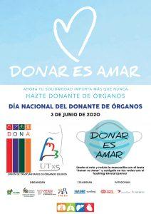 Cartel dia del donante 2020