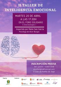 II taller de inteligencia emocional 20 abril